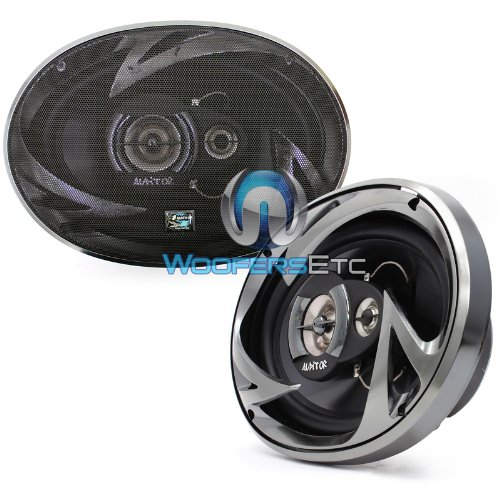 Auditor Rip 690C 6 X 9-inch Coaxial Speaker Kit