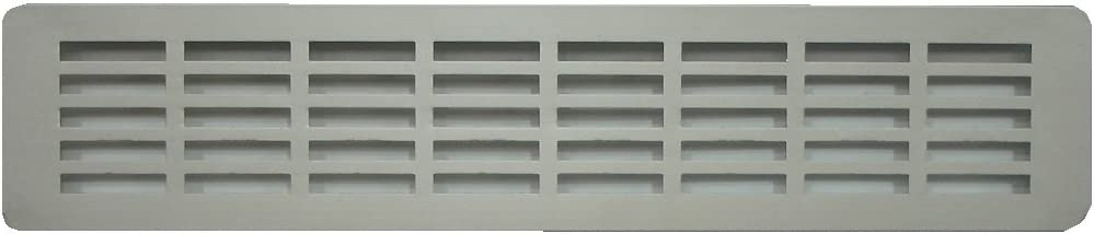 BarPan LTD - Rejilla de Ventilación de Aluminio Anodizado Para Encimera de Cocina, Parrilla de Ventilación de Aluminio con Plinto (Size: 51,5 x 7 cm)