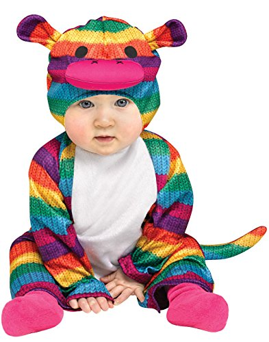 Sock Monkey Costume Amazon (Rainbow Sock Monkey Colorful Halloween Costume, ,12-24 Months)