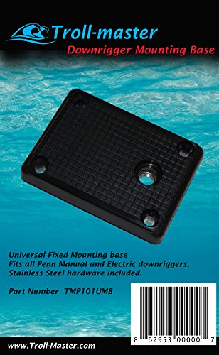 Seahorse Downrigger Mounting Base Plate Fits Penn Fathom-master