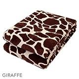 Animal-Print-Blankets/KING/Giraffe