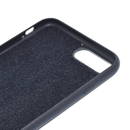 MXNET IPhone 7 Plus Fall, PU-lederner Farben-Schädel-Muster-Magnet-Stickerei-schützender rückseitiger Abdeckungs-Fall CASE FÜR IPHONE 7 PLUS ( SKU : Ip7p4516b )