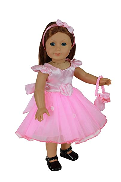 doll clothes for american girl dolls 4 piece fancy party dress
