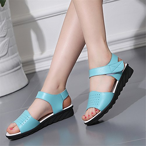 con caviglia alla cinturino XZGC Scarpe Blau Donna Bvqw5TC