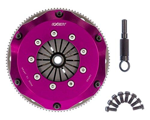 - EXEDY NM022SBMC1 Carbon-R Clutch Kit Twin Carbon Rigid Disc 200mm Push Type 24 Tooth/25.6mm Spline Carbon-R Clutch Kit