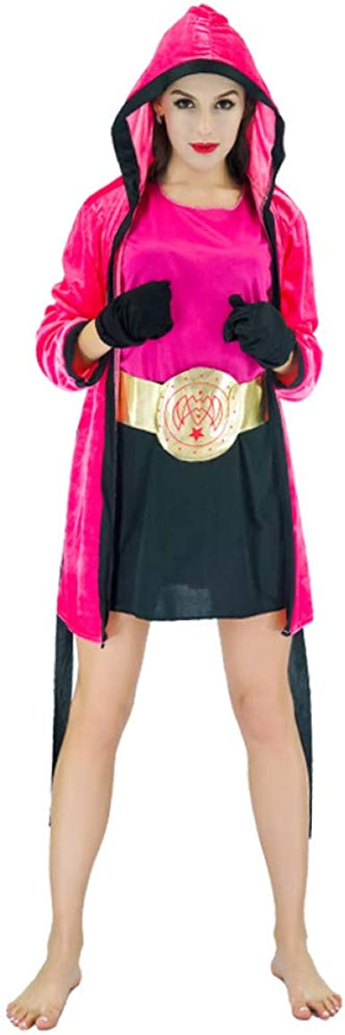 ZAOWEN Disfraz De Halloween Disfraces De Mujer Chica Boxeadora ...