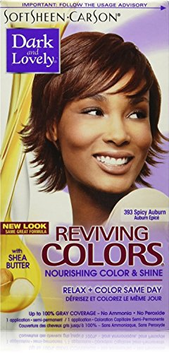 Dark and Lovely Reviving Colors, No.393, Spicy Auburn, 1 ea (Pack of 2)