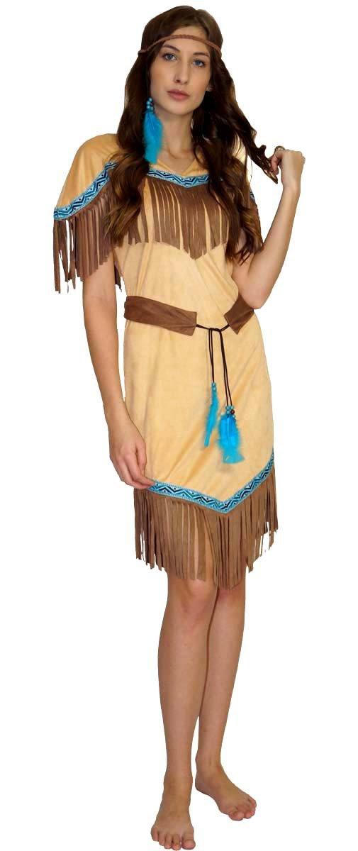 Maylynn 16617 - Kostüm Indianerin Indianerkostüm Squaw Damen 3 ...
