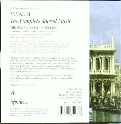 Vivaldi: Sacred Music - Complete