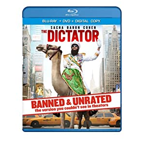 The Dictator - BANNED & UNRATED Version (Two-disc Blu-ray/DVD Combo + Digital Copy) (2012)