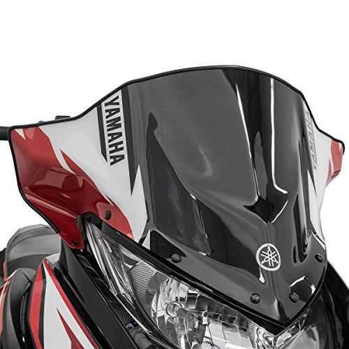 Yamaha Snowmobile Windshield - Yamaha SR Viper Low Sport Snowmobile Windshield Red 9.5