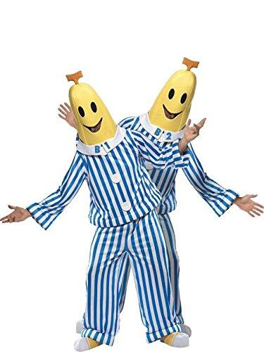M In Pigiama A Costume Amazon Colore E Bianco Taglia Banana Blu UwEpZX