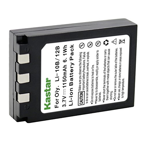 Kastar Replacement Battery for Olympus Li-10B LI10B Li-12B Battery and Olympus Digital Cameras ()