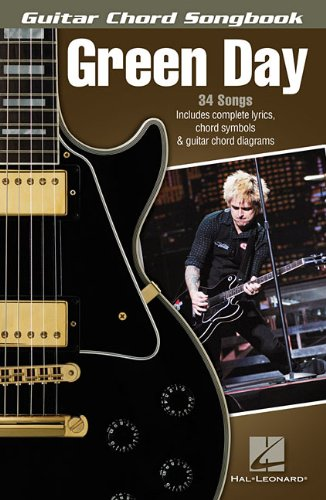 Amazon Green Day Guitar Chord Songbook 0884088690144 Green