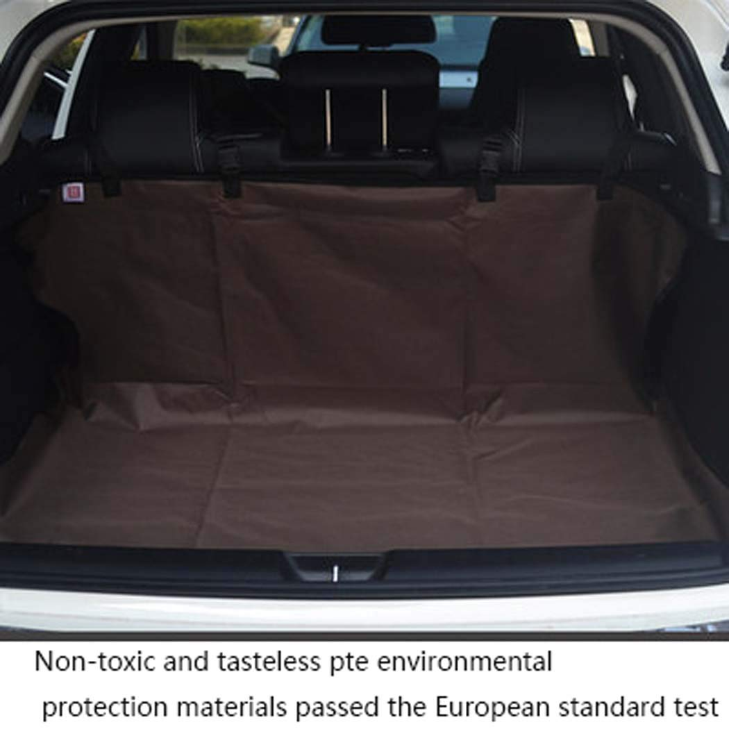 Brown Car Covers seat, Dog Seat Cover for Back Seat, Waterproof Dog Hammock Backseat Dog Cover for Cars Trucks and SUVs,Brown