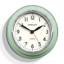 Newgate Cookhouse Kettle Wall Clock Green