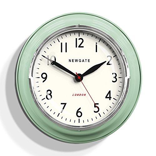 Newgate Cookhouse Kettle Wall Clock Green