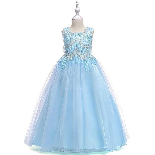 YYXT - Vestido de Princesa Aurora con Dobladillo en el ...