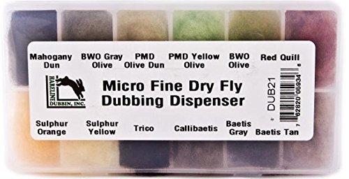 Micro Fine Dry Fly Dubbing Dispenser -