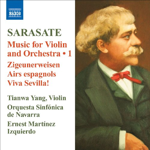 - Sarasate: Music for Violin & Orchestra, Vol. 1