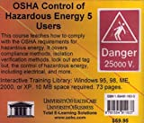OSHA Control of Hazardous Energy, 5 Users, Farb, Daniel and Gordon, Bruce, 1594911630