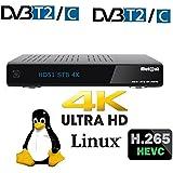 Mut @ nt Digital Technology Ultra HD HD51con 1x DVB-S/S2Tuner 2160p 4K Flash Box E2, PVR, Linux Receiver