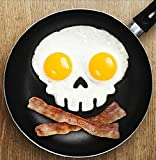 Skull Halloween Egg, Pancake or Cookie, Silicone Mold