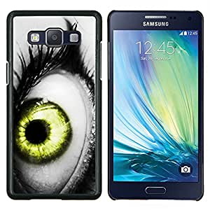 Stuss Case / Funda Carcasa protectora - Vibrante Gris Blanco Negro Verde Profundo - Samsung Galaxy A5 ( A5000 ) 2014 Version