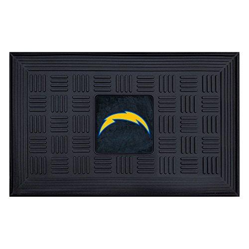 FANMATS NFL San Diego Chargers Vinyl Door Mat