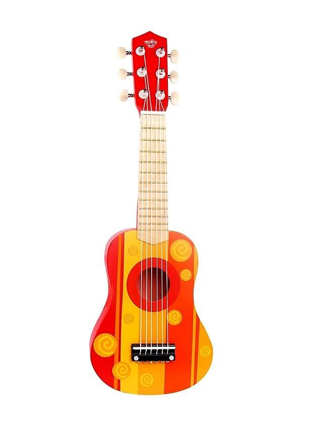Tooky Toy - Guitarra de Juguete para niños. Instrumento Musical a ...