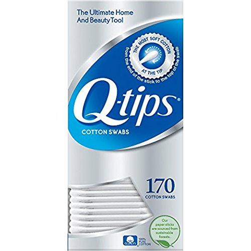 Q-Tips Cotton Swabs, 170 Count, 2-Pack