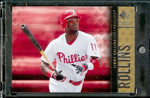 2007 Upper Deck SP Rookie Edition # 35 Jimmy Rollins - Phillies - MLB Trading Card