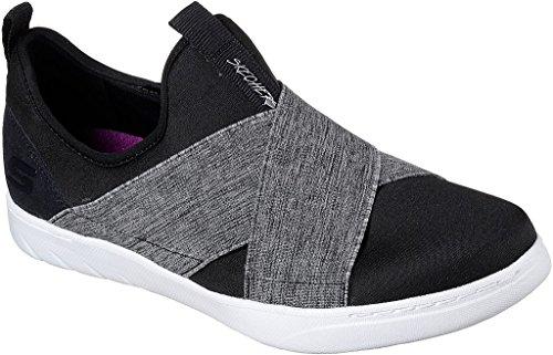 Skechers Womens Millenial - Sneaker Bellefire Nero / Grigio