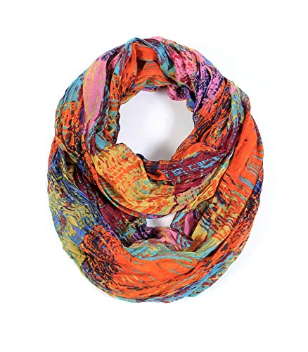Scarfand's Mixed Color Infinity Scarf (Mixed Color - PKOR)