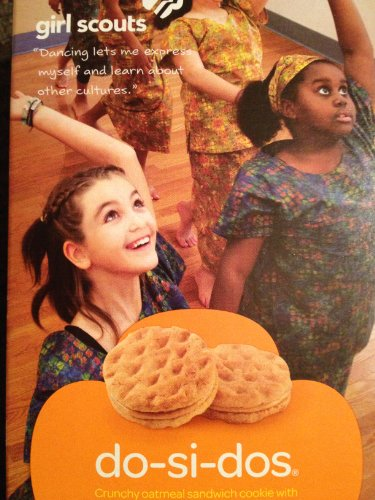 GIRL SCOUT COOKIES Do-Si-Dos (18 per box) Full Case of 12 ()