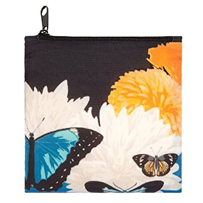 LOQI Reusable Tote - Botany Butterfly