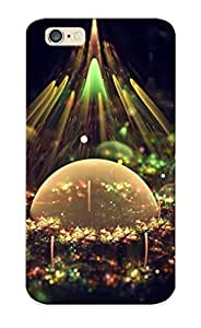 New Style Standinmyside Hard Case Cover For Iphone 6- Fractal Graphic Artistic Composition Bubbles