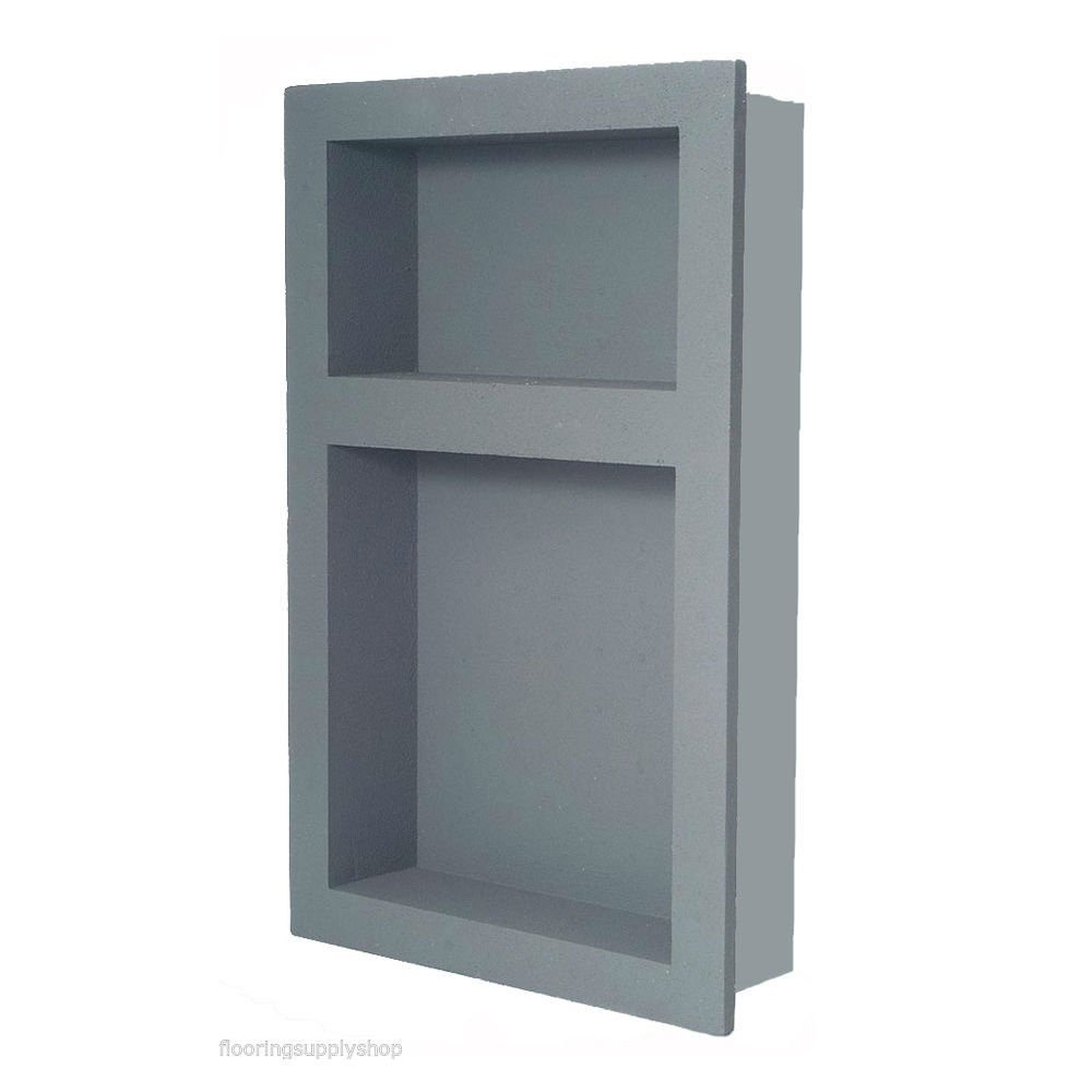 Preformed Double Recessed Shower Niche 14 x 21 - Ready to Tile & Waterproof