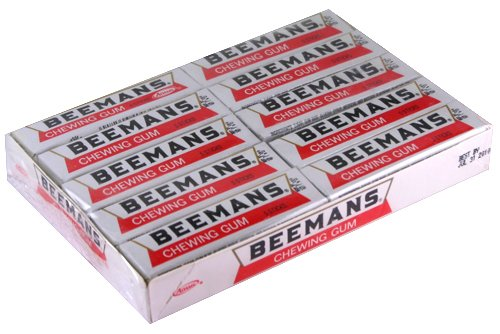 Fashioned Gum Old - Beemans (Beeman's) Chewing Gum 20 x 5 stick packs
