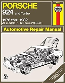 [(Porsche 924 and Turbo 1976-82 Owners Workshop Manual)] [Author