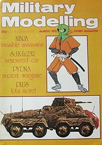 March 1975 Military Modelling Magazine Ninja Assassins - Modelling Magazine