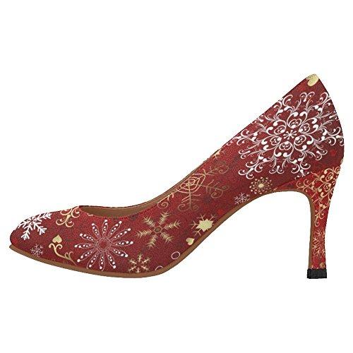 InterestPrint Womens Classic Fashion High Heel Dress Pump Shoes Multi 3 1eUYI0uiM