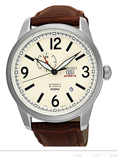 SEIKO 5 Sports Automatic Men's watch made in Japan SSA295J1 Ivory