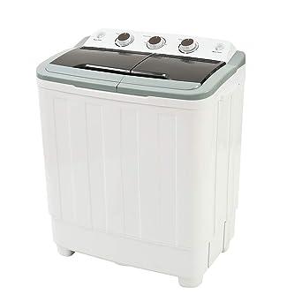 Lavadora portátil dos bañeras Lavadoras gran capacidad lavar a 4.6 ...