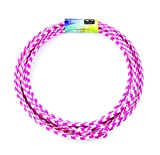 Just Jump It Lil Lariat- Junior Lasso- pre-tied-20', Raspberry and White