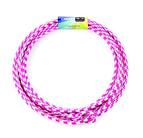 Just Jump It Lil Lariat- Junior Lasso- pre-tied-20', Raspberry and -