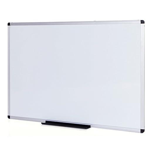 24 opinioni per VIZ-PRO Lavagna Magnetica, cornice in alluminio, 90 x 60 cm