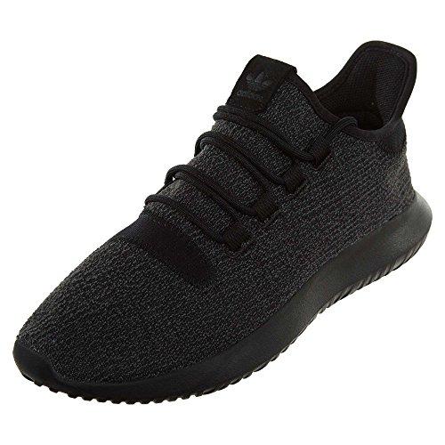 adidas Originals Men's Tubular Shadow, Black/Black/Black, 8 Medium US