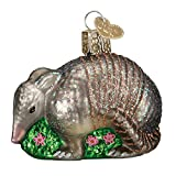 Old World Christmas Ornaments: Armadillo Glass Blown Ornaments for Christmas Tree