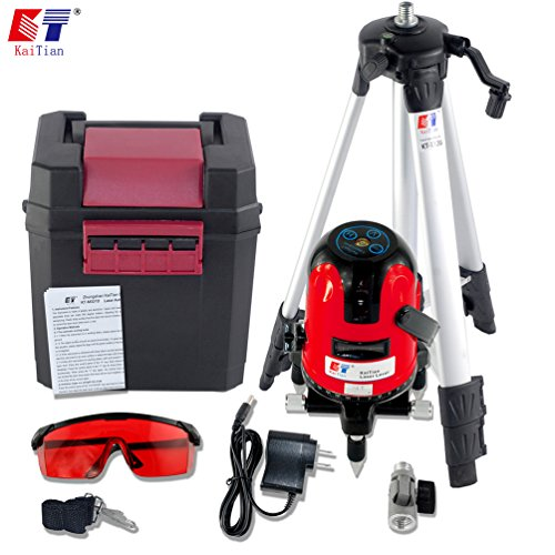 kaitian-360-rotary-self-leveling-cross-laser-level-red-2-line-1-point-with-tripod